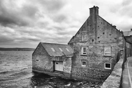 windswept sideside cottage