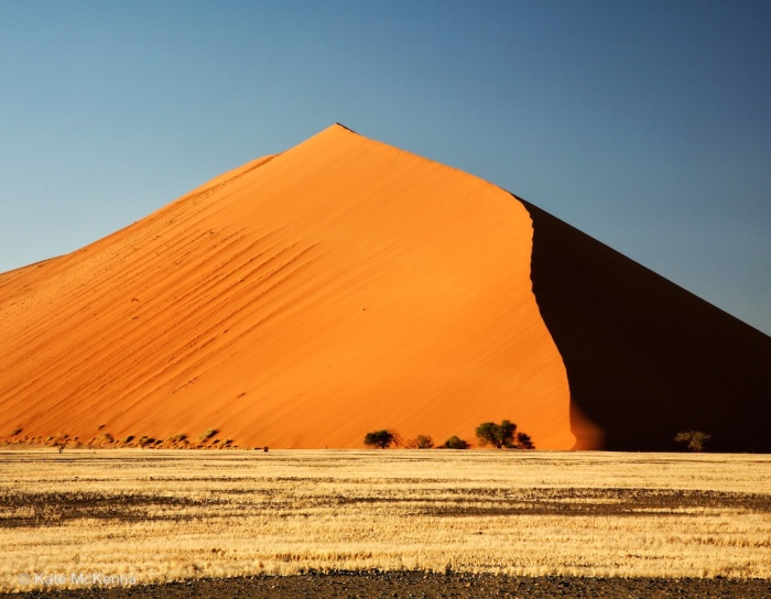 colored photo sand dune