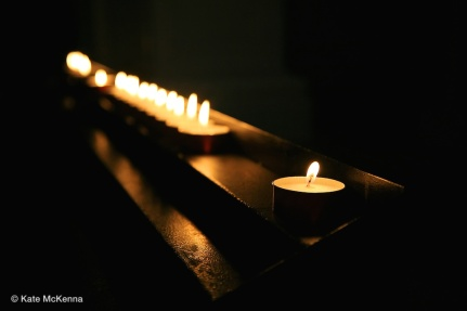 photo of lighted candles