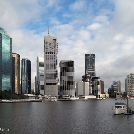 photo brisbane skyline