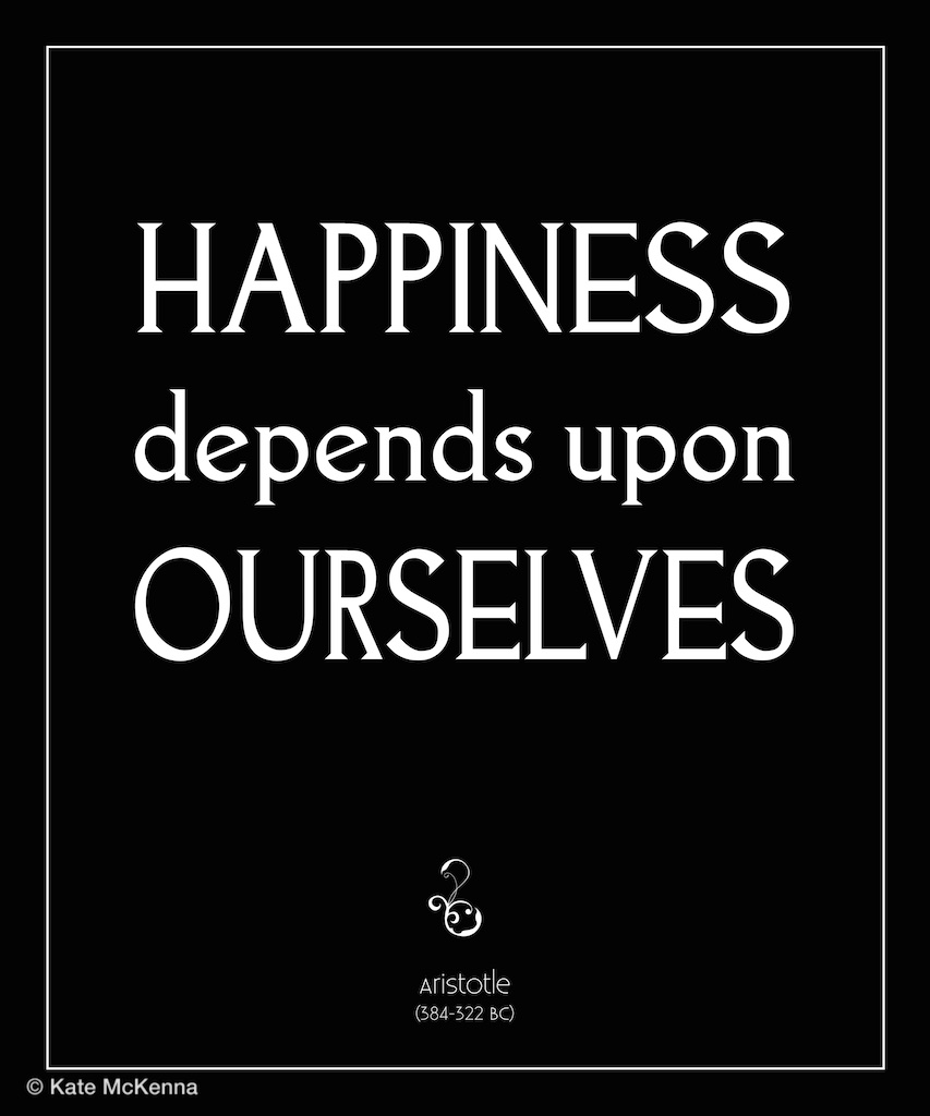 aristotle quote on happiness