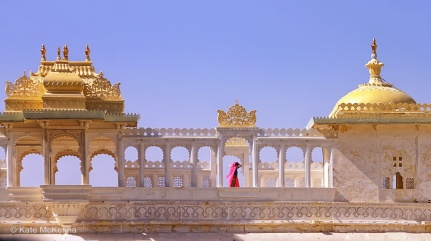 photo lady in pink sari